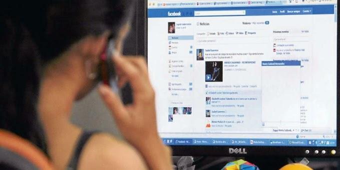 Delincuentes en redes sociales